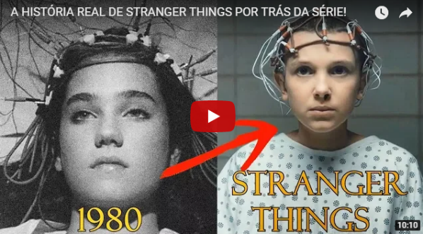 HISTÓRIA REAL DE STRANGER THINGS